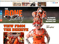 The Bone Lady - Ultimate Cleveland Browns Fan